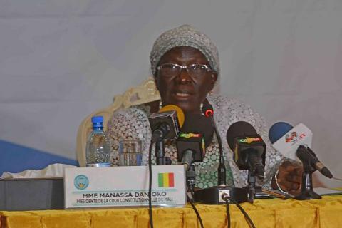 Manassa, président de la Cour Constitutionnelle du Mali