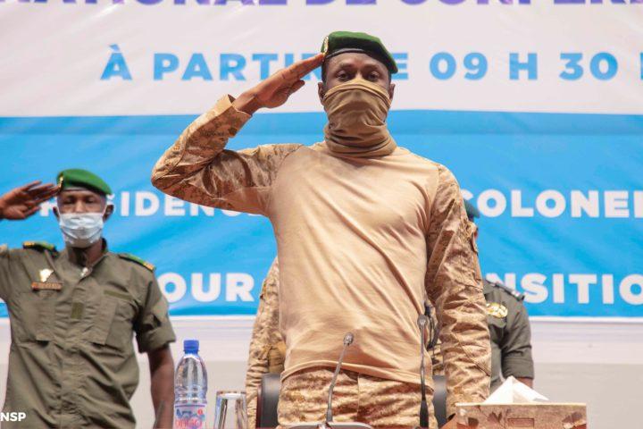 Le colonel Assimi Goïta, président du CNSP